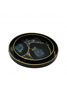 Plateau rond Midnight Glory L