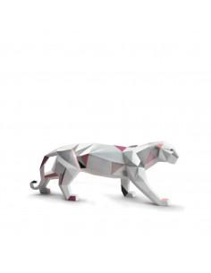 Sculpture Panthera origami...
