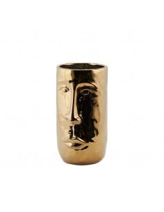 Vase Faccia H26cm - or