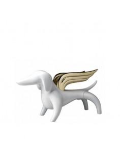 Figurine Joy - blanc & or