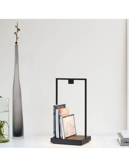 Oscar Home Lampe Curiosity rechargeable nomade artemide luminaire bibliothèque livres