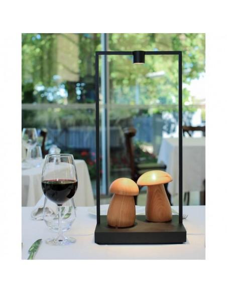 Oscar Home Lampe Curiosity rechargeable nomade artemide luminaire champignons