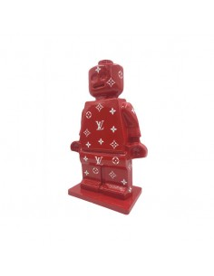 Alter Ego Oscar Home deco vuitton luxe louis rouge lego sculpture figurine pop culture