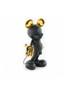 Figurine Mickey - noir & or