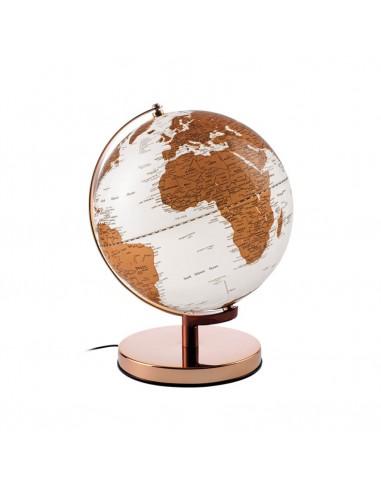 Globe lumineux filaire diam 25cm - Or