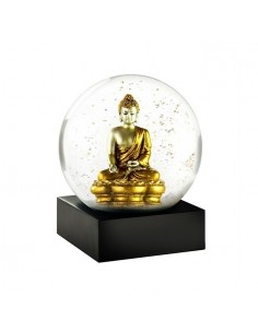 Snow Globe Gold Buddha