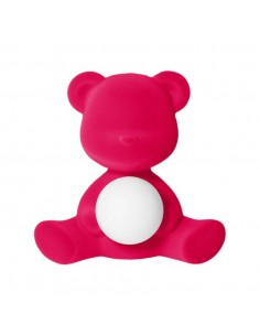 Lampe Teddy Girl - velvet