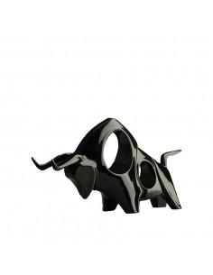 Sculpture TORO noire - tête...