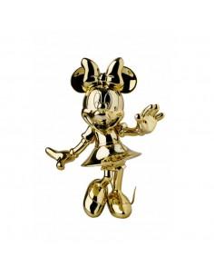 Figurine Minnie - chrome or