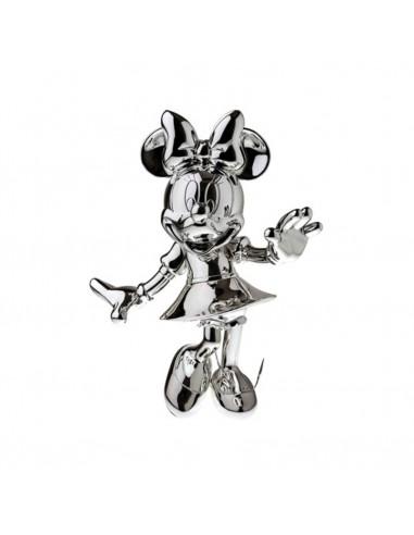Figurine Minnie - chrome argent